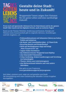 Tag des Guten Lebens Wuppertal - Programm